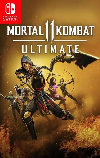 Switch Mortal Kombat 11 Ultimate (code in box)