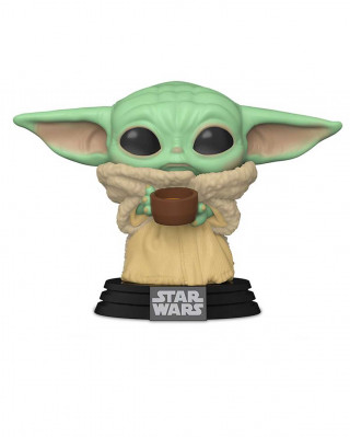 Bobble Figure Star Wars Mandalorian POP! - The Child with Cup
