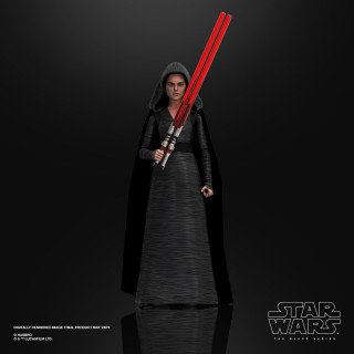Action Figure Star Wars The Rise of Skywalker Black Series - Rey ( dark side vision )