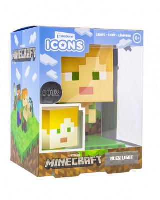 Lampa Minecraft - Alex Icon Light