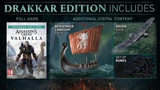 PS4 Assassin's Creed Valhalla Drakkar Special Day1 Edition
