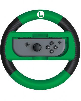 Nintendo Switch HORI Deluxe Wheel Attachment - Mario Kart 8 Deluxe - Luigi