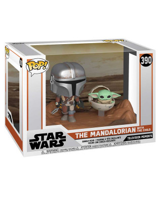 Bobble Figure Star Wars TV Moments POP! - The Mandalorian with the Child