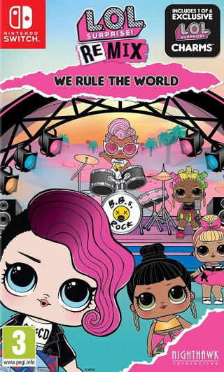 Switch L.O.L. Surprise! Remix - We Rule The World