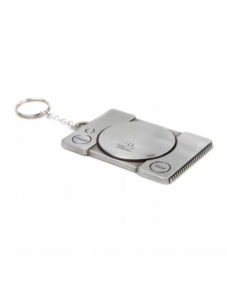 Privezak Playstation 1 Console Metal