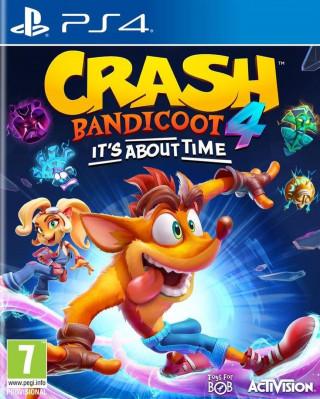 PS4 Crash Bandicoot 4 It's about time