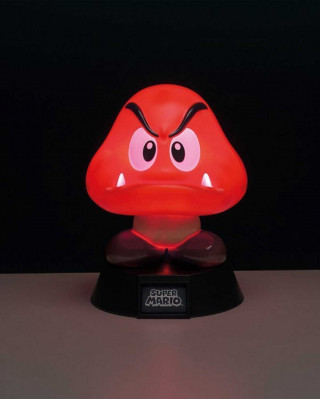 Lampa Nintendo Super Mario Goomba 3D