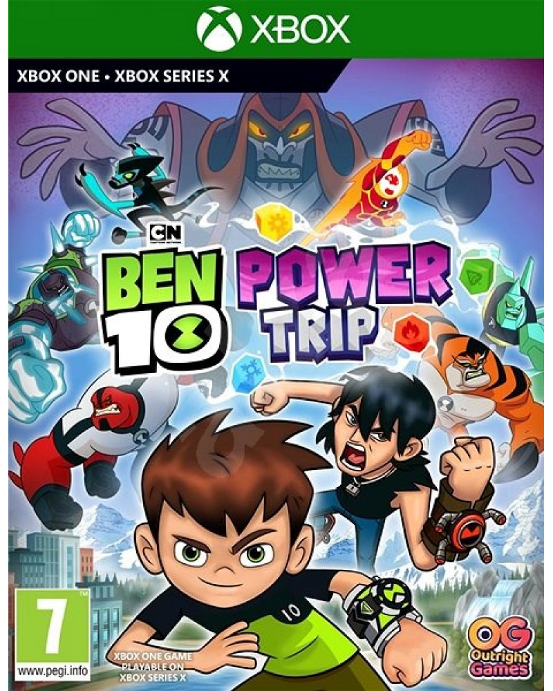 XBOX ONE Ben 10 - Power trip!