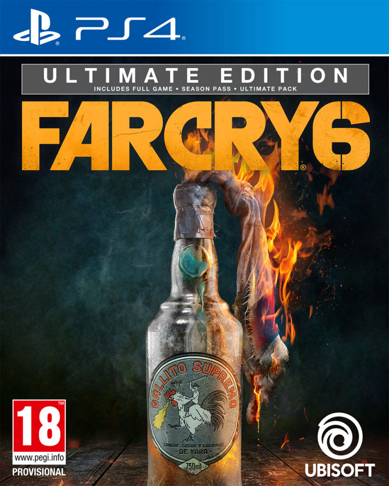 PS4 Far Cry 6 - Ultimate Edition