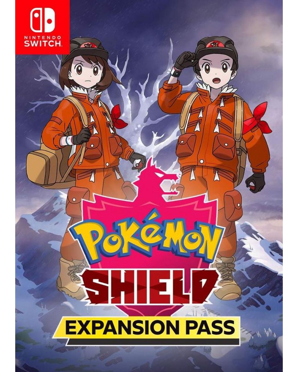 Switch Pokemon - Shield + Expansion Pass