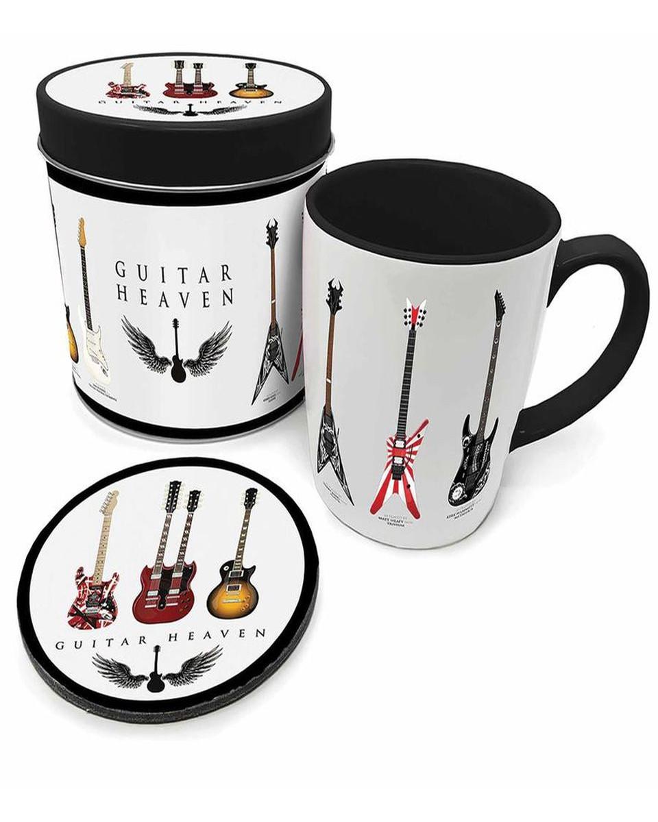Šolja i podmetač Guitar Heaven - Legendary Guitars