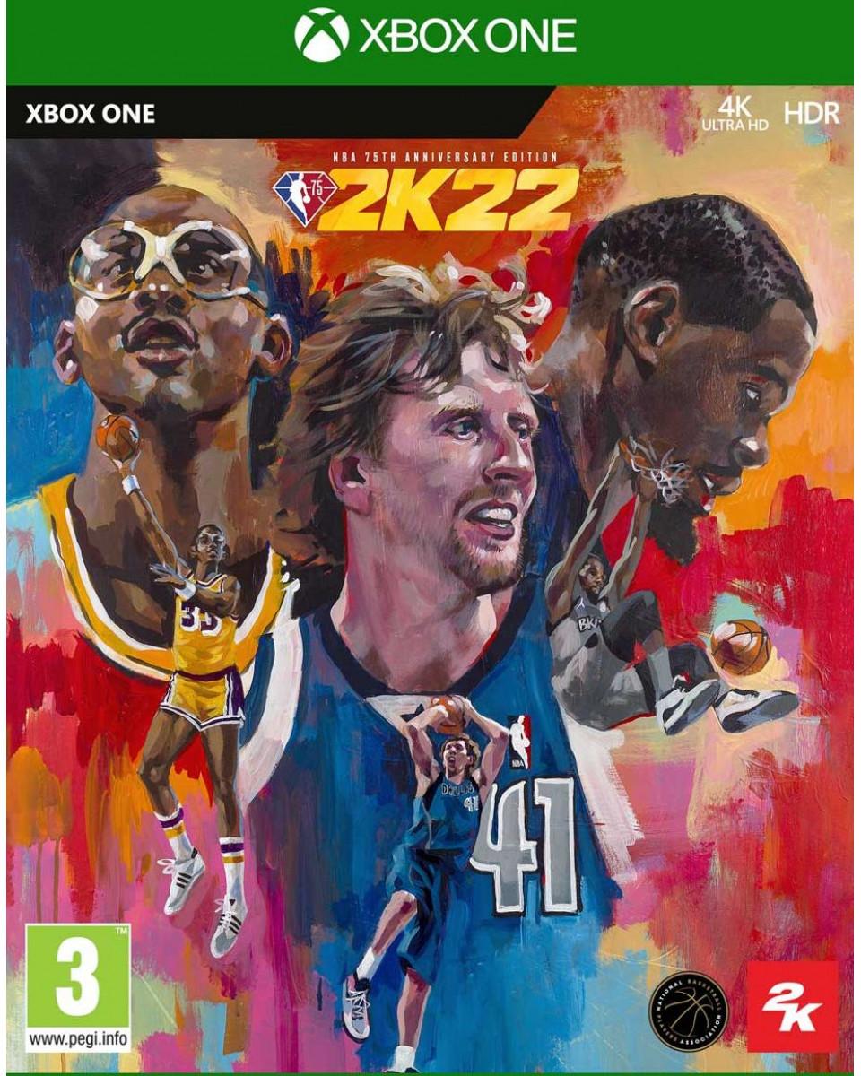 XBOX ONE NBA 2K22 75th Anniversary Edition