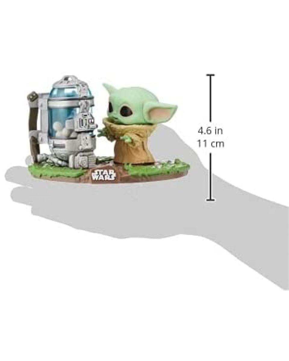 Bobble Figure Star Wars The Mandalorian POP! - The Child Egg Canister - Deluxe