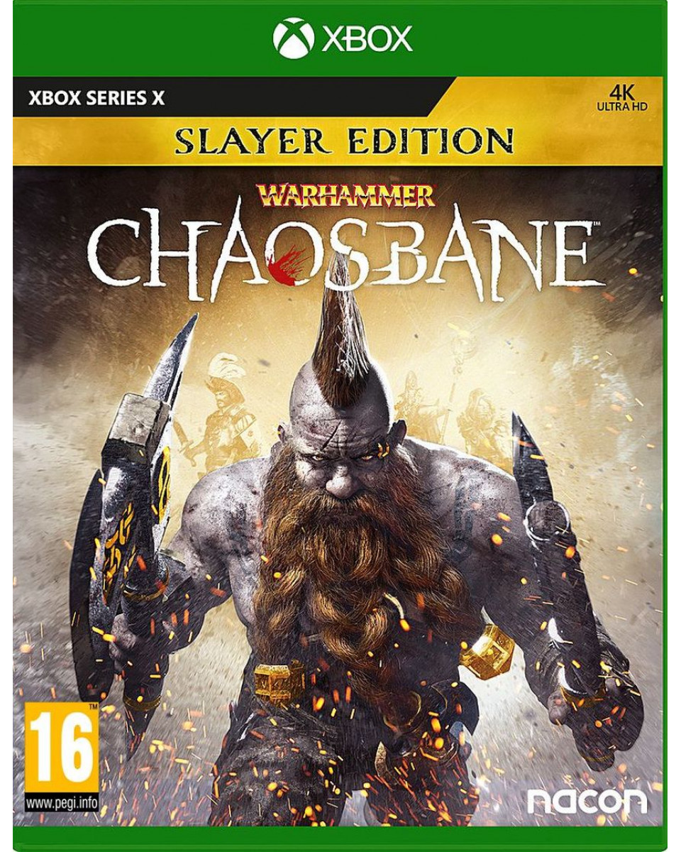 XBOX Series X Warhammer - Chaosbane Slayer Edition
