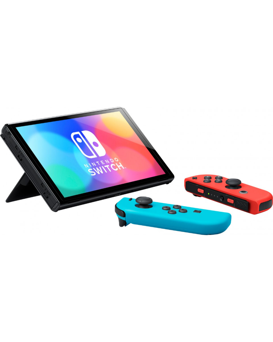 Konzola Nintendo Switch OLED (Neon Blue/Red Joy-Con)