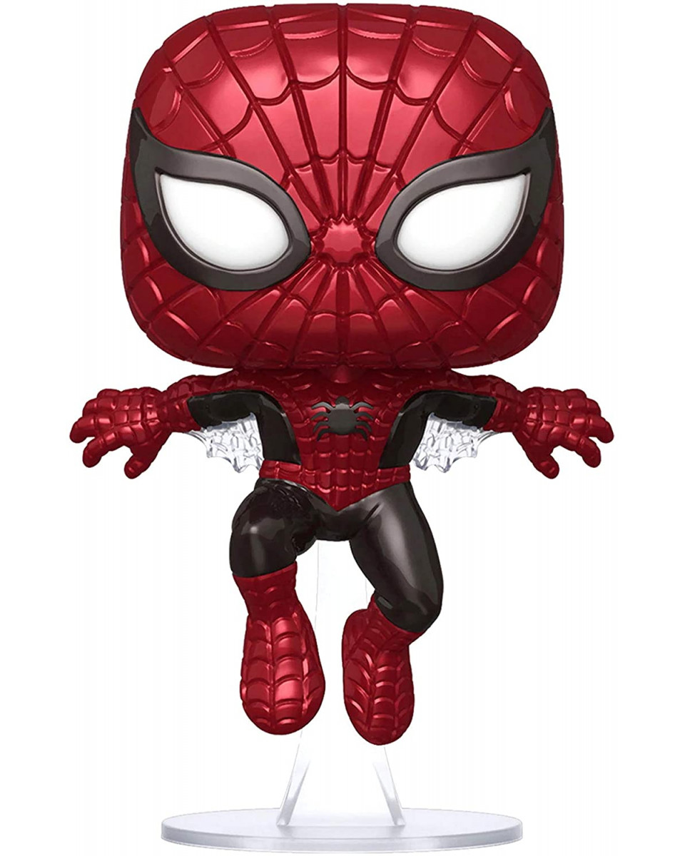Bobble Figure Marvel 80 Years POP! - First Appearance Spider-Man (Metallic) (Special Edition)