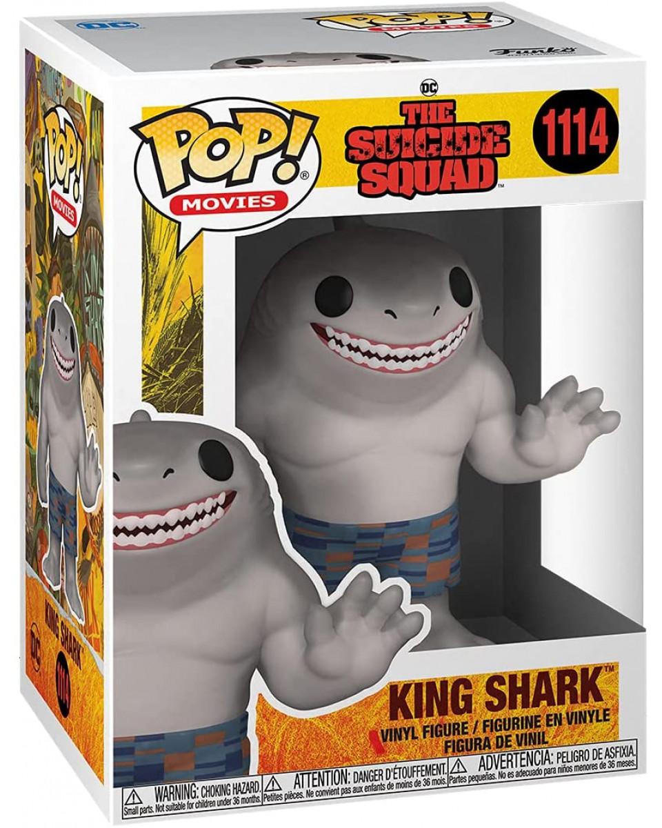 Bobble Figure The Suicide Squad POP! - King Shark
