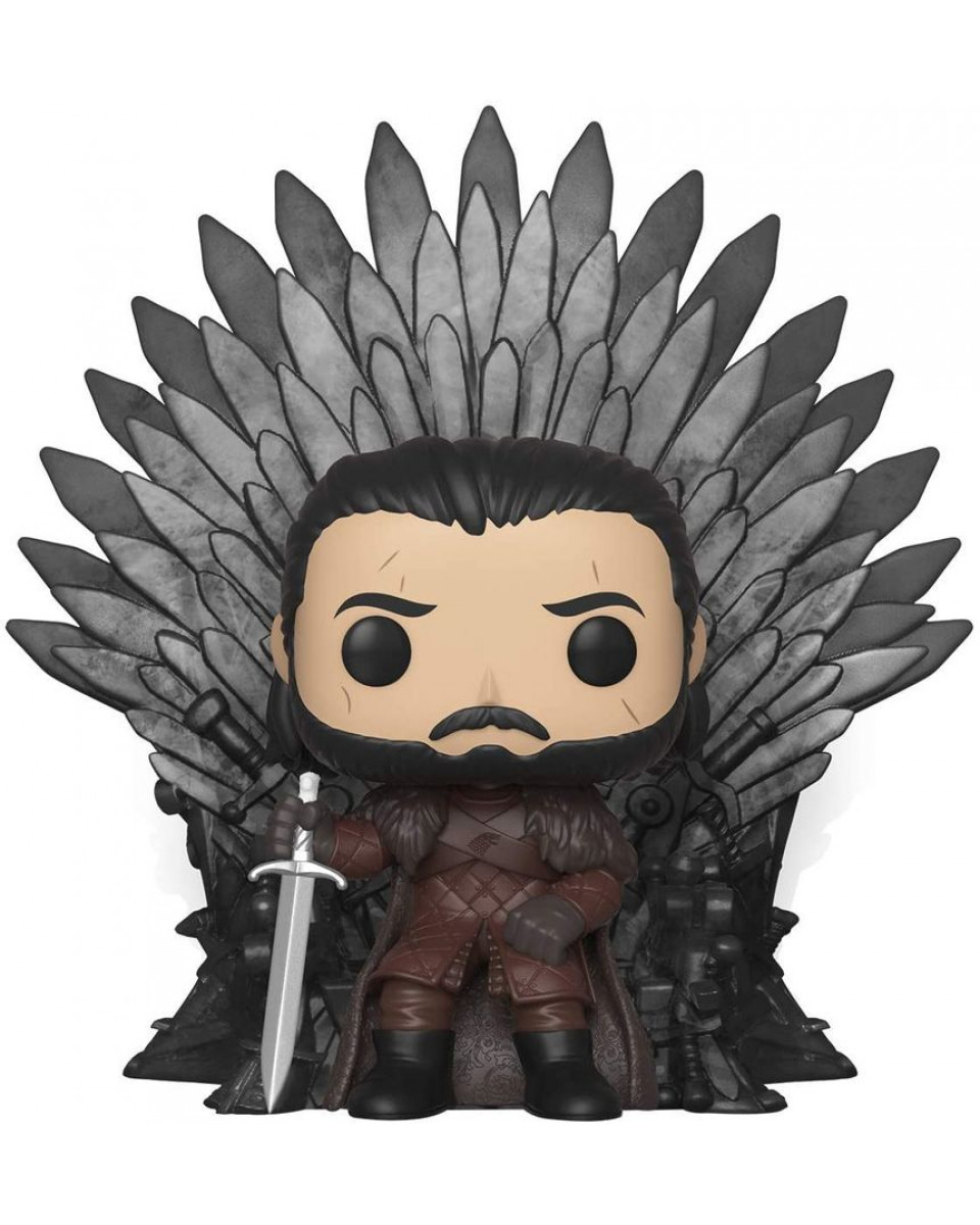 Bobble Figure POP! Game of Thrones -  Jon SnowSitting on Throne