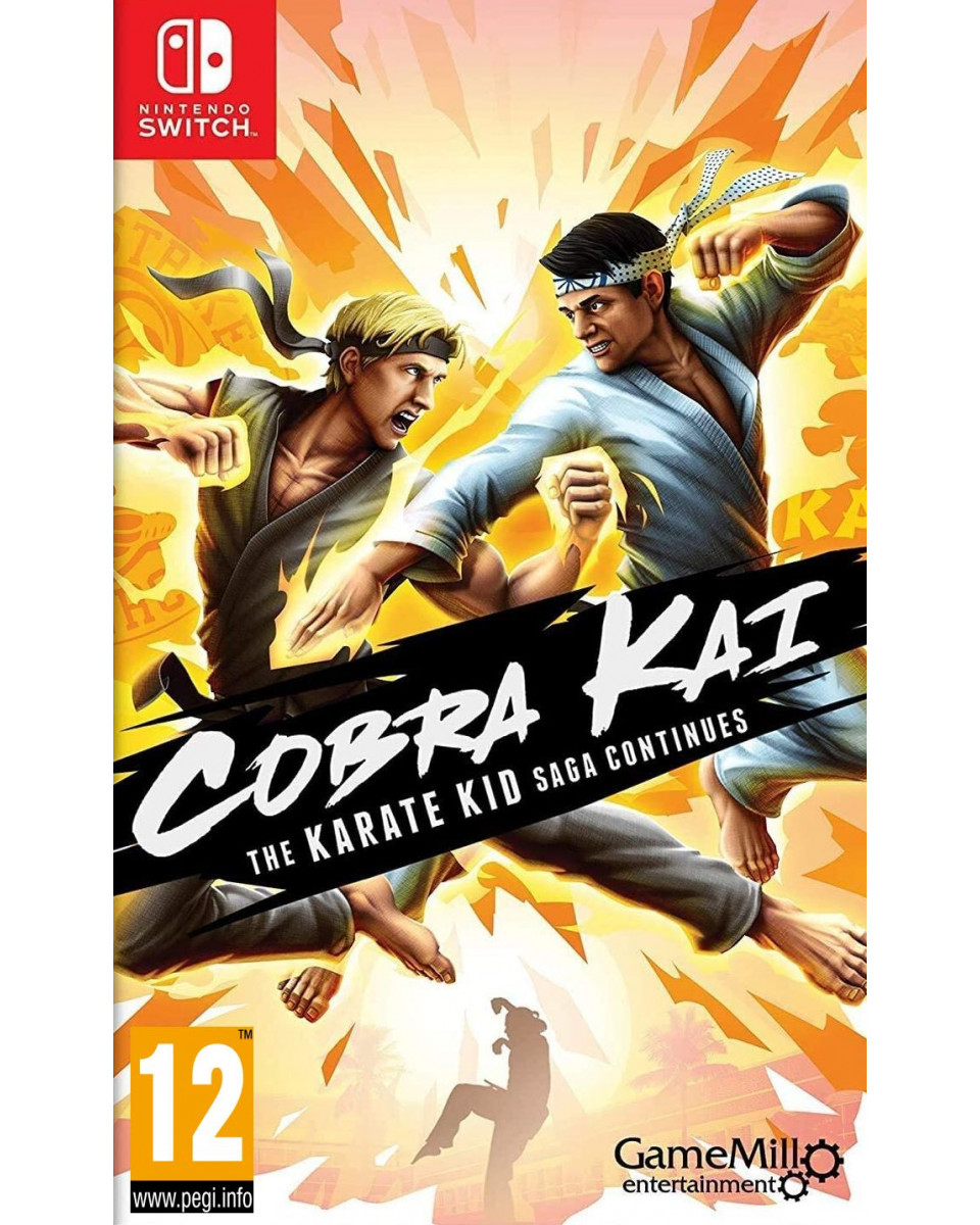 Switch Cobra Kai - The Karate Kid Saga Continues