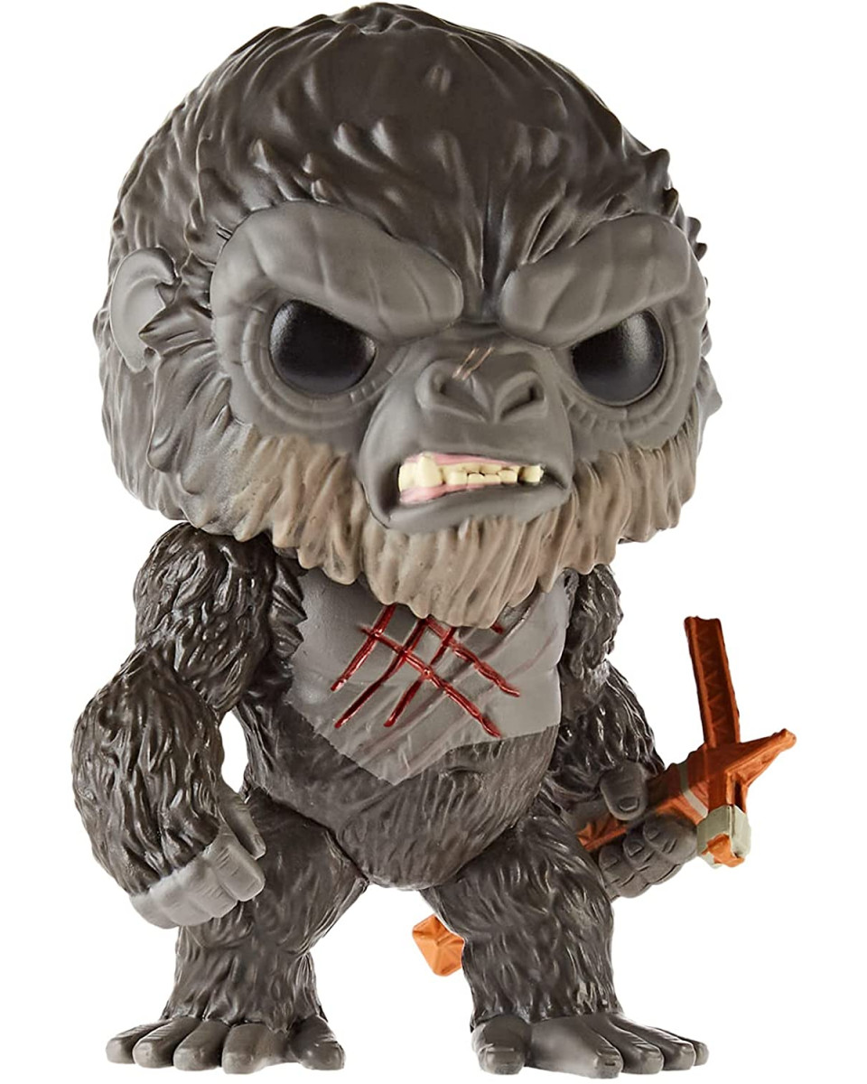 Bobble Figure Godzilla Vs Kong POP! - Battle Worn Kong