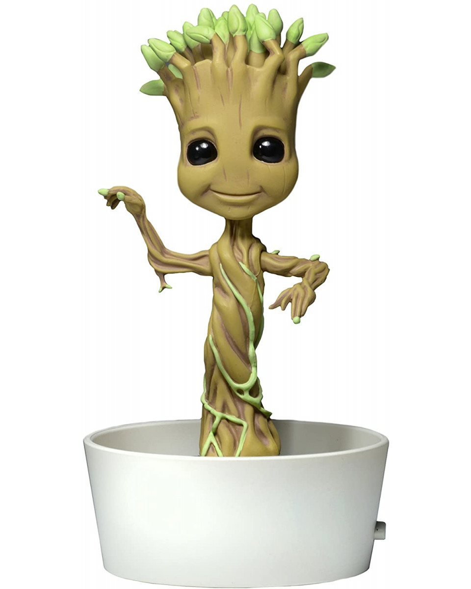 Bobble Figure Guardians Of The Galaxy Body Knocker - Dancing Potted Groot