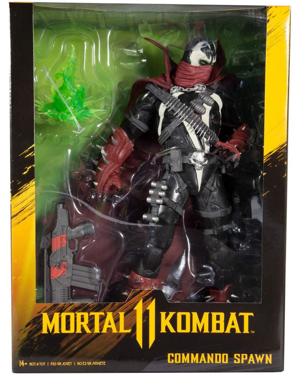 Action Figure Mortal Kombat - Commando Spawn - Dark Ages Skin