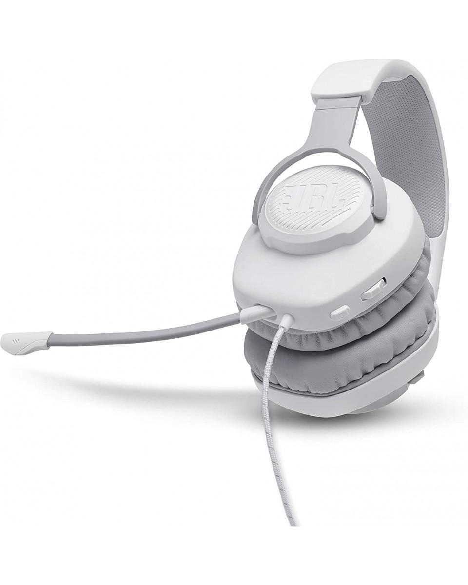 Slušalice JBL QUANTUM 100 - White
