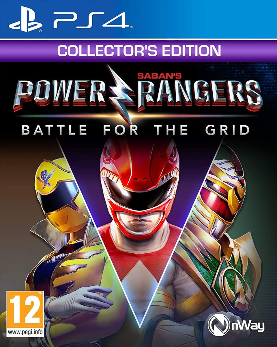 PS4 Power Rangers Battle For The Grid Collector's Edition