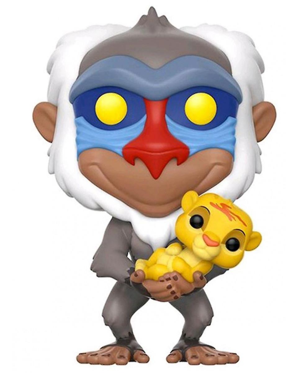 Bobble Figure Disney The Lion King POP! - Rafiki with Baby Simba