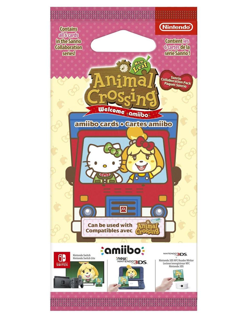 Animal Crossing New Leaf Sanrio Amiibo Card