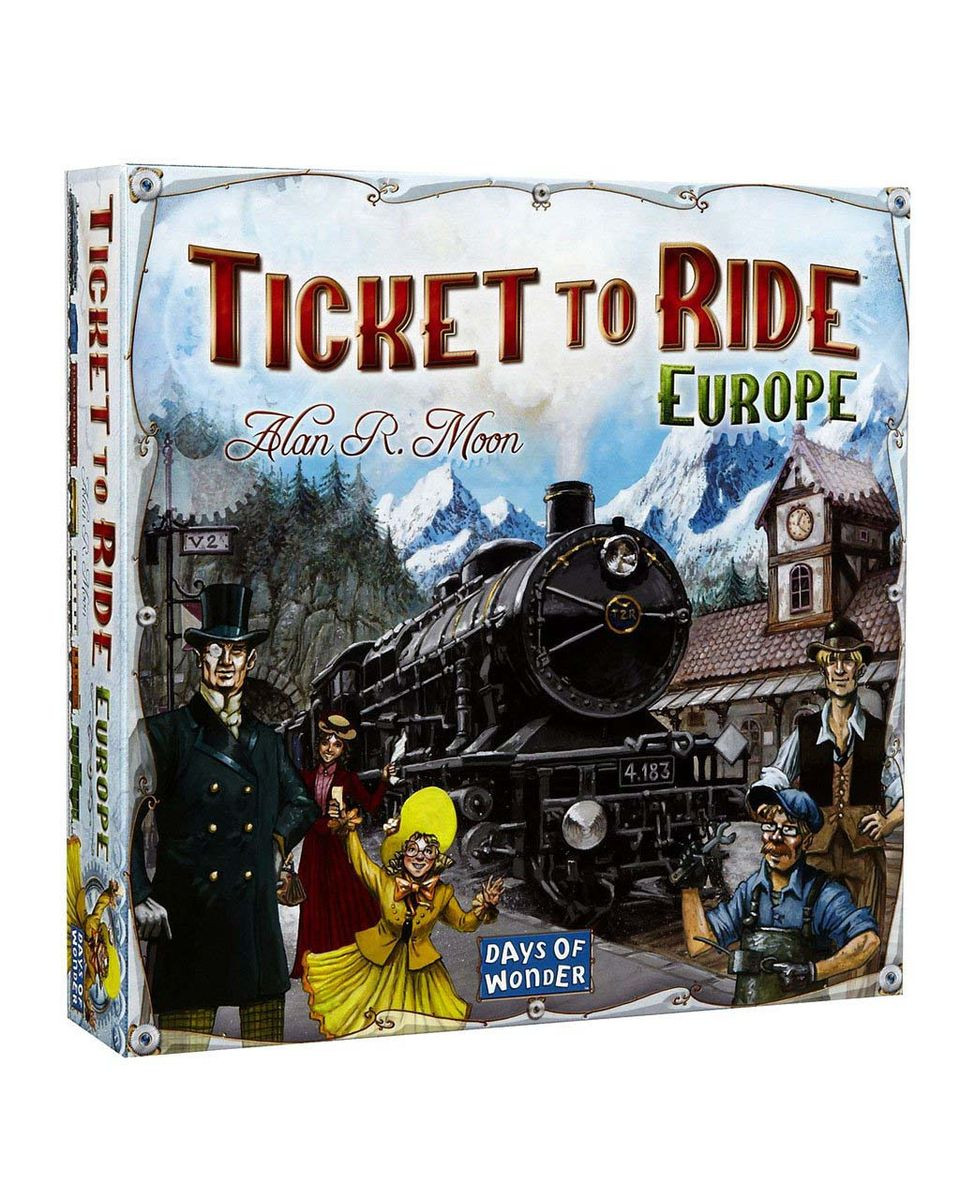 Društvena igra Ticket To Ride Europe