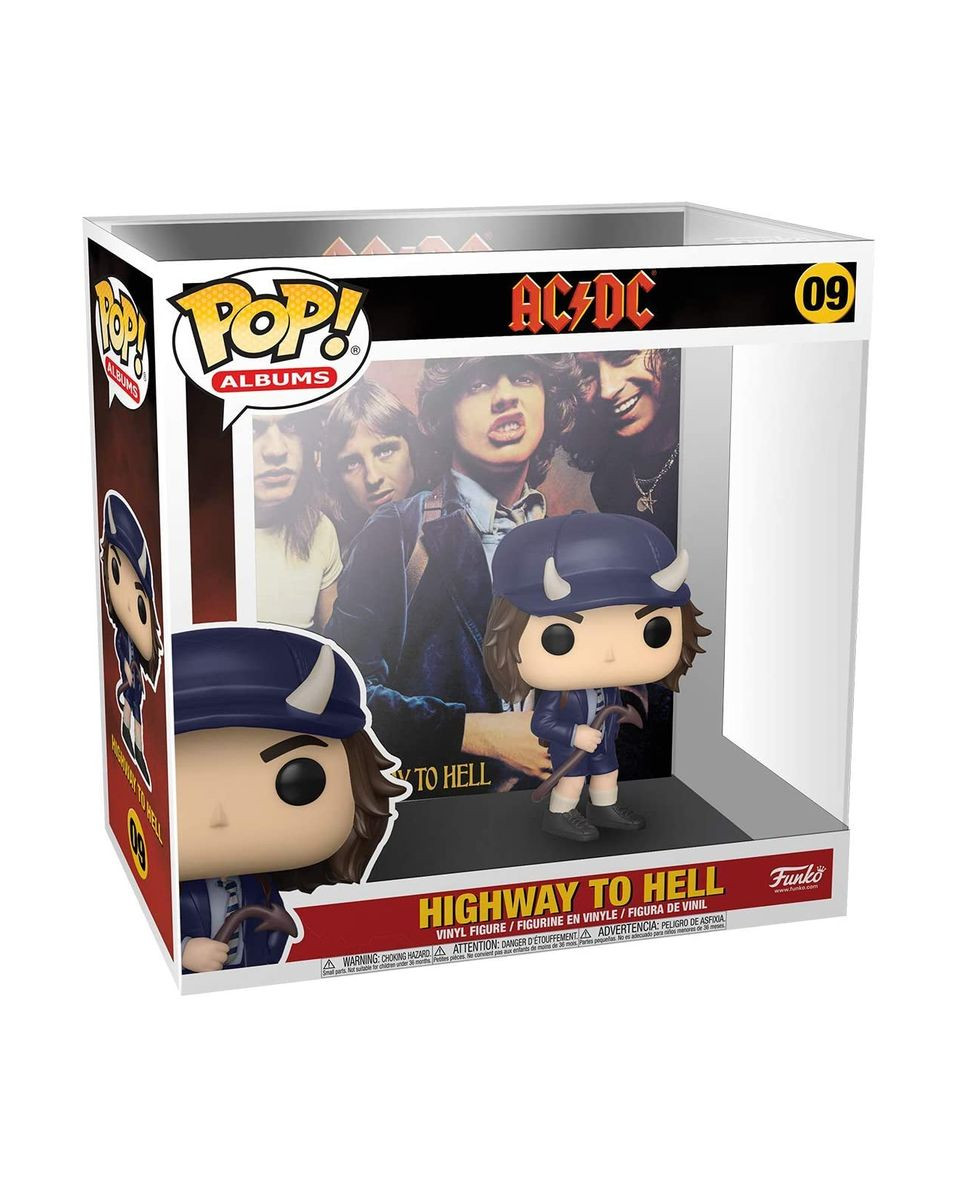 Bobble Figure Albums POP! ACDC - Highway To Hell