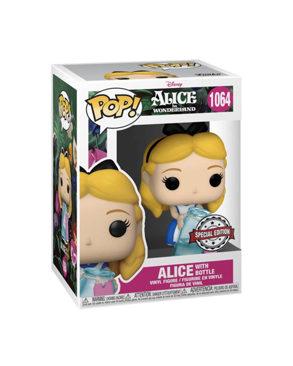 Bobble Figure Alice In Wonderland POP! - Alice With Bottle