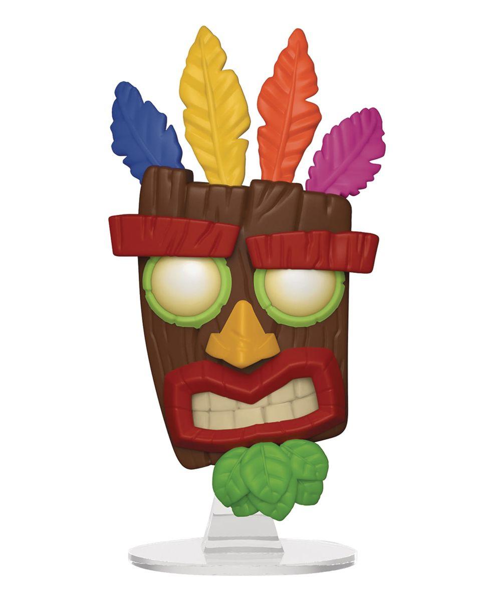 Bobble Figure Crash Bandicoot POP! - Aku Aku