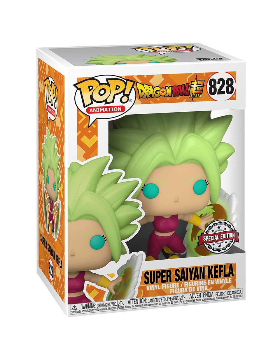 Bobble Figure Dragon Ball Super POP! - Super Saiyan Kefla