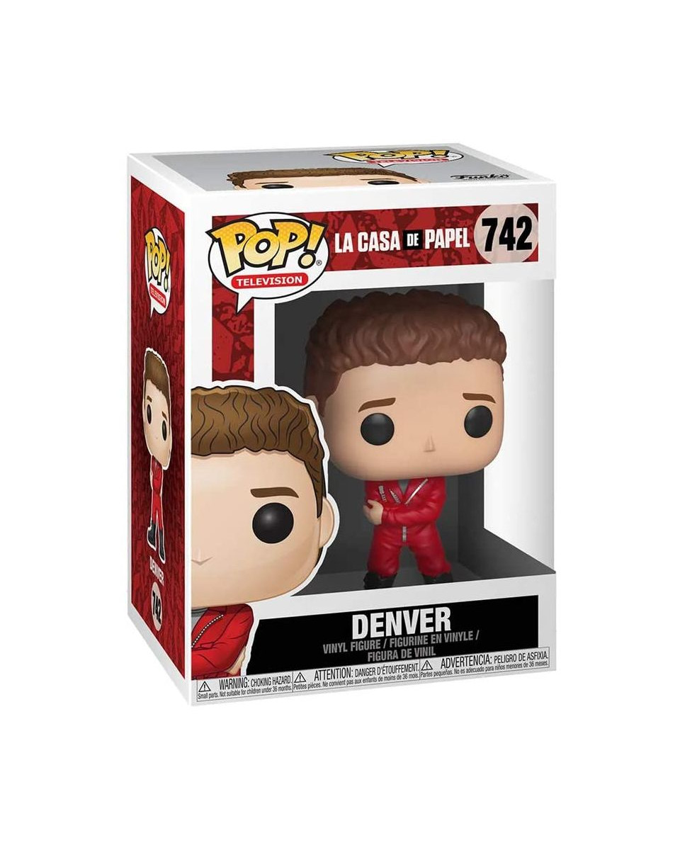 Bobble Figure La Casa De Papel POP! - Denver