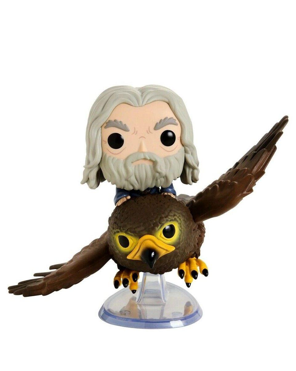 Bobble Figure Lord Of The Rings Pop! - Gandalf on Gwaihir