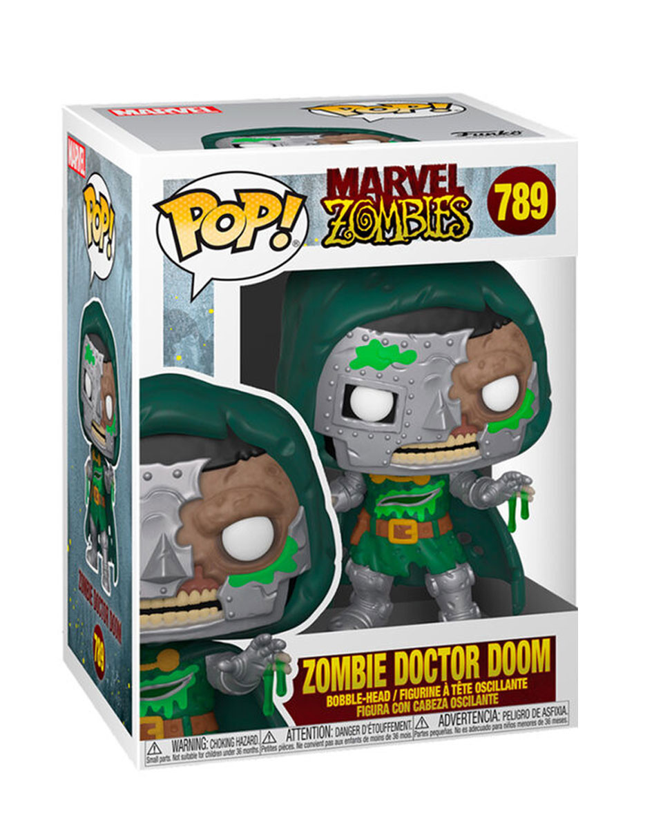 Bobble Figure Marvel Zombies POP! - Zombie Doctor Doom
