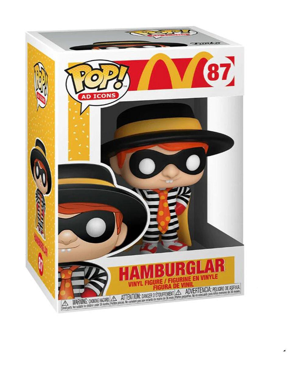 Bobble Figure McDonald's Pop! - Hamburglar