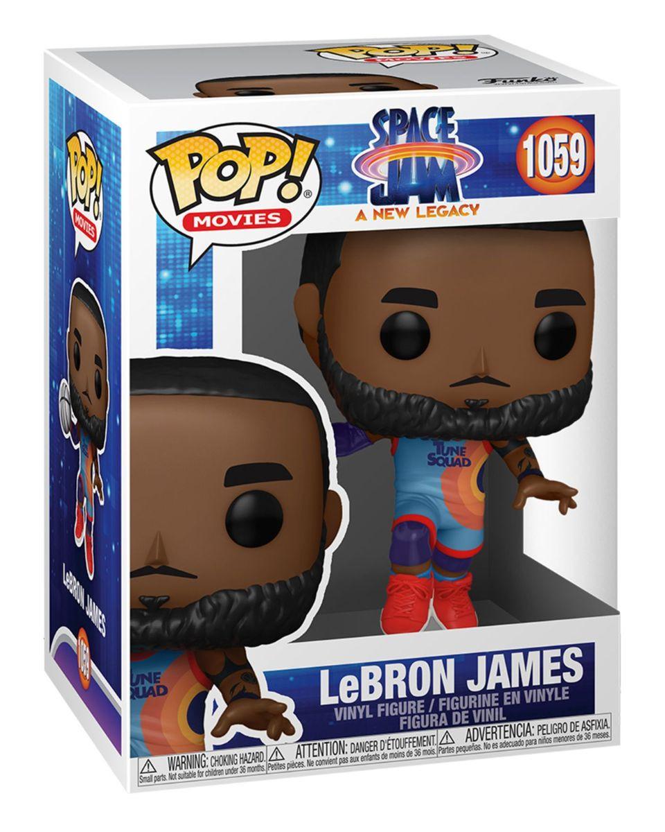 Bobble Figure Movies POP! Space Jam - A New Legacy - LeBron James