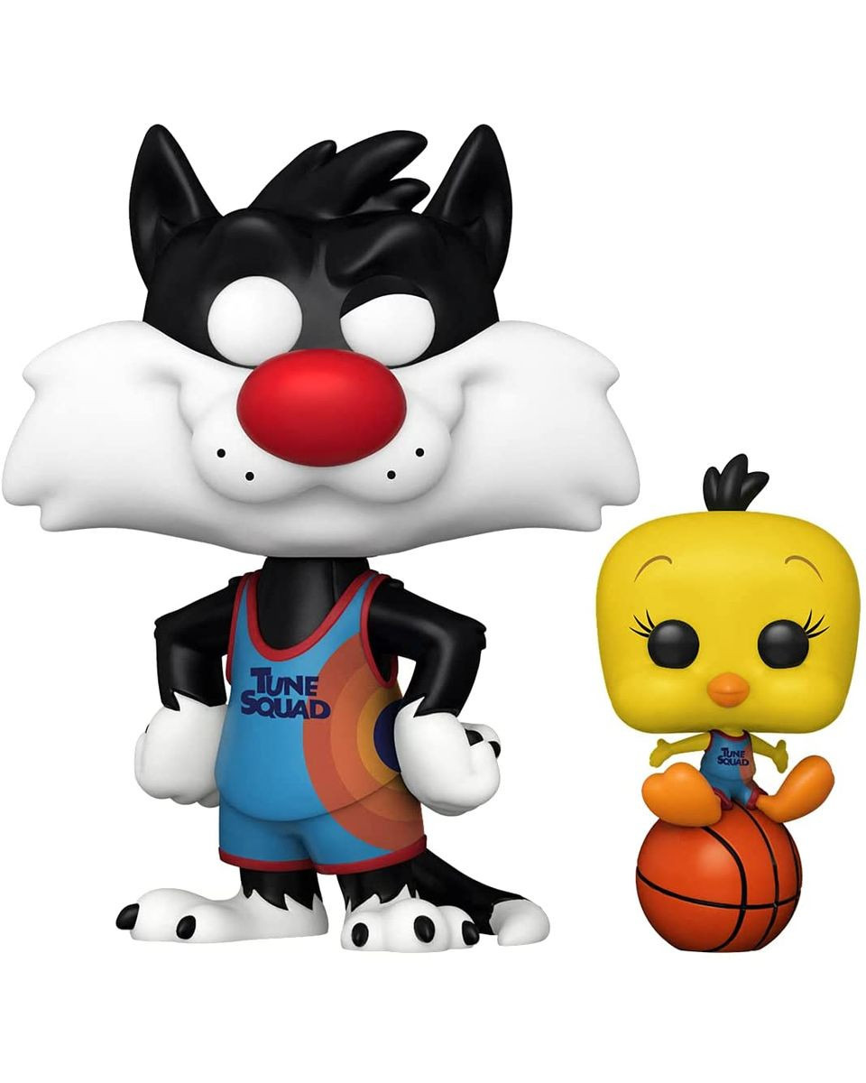 Bobble Figure Movies POP! Space Jam - A New Legacy - Sylvester And Tweety