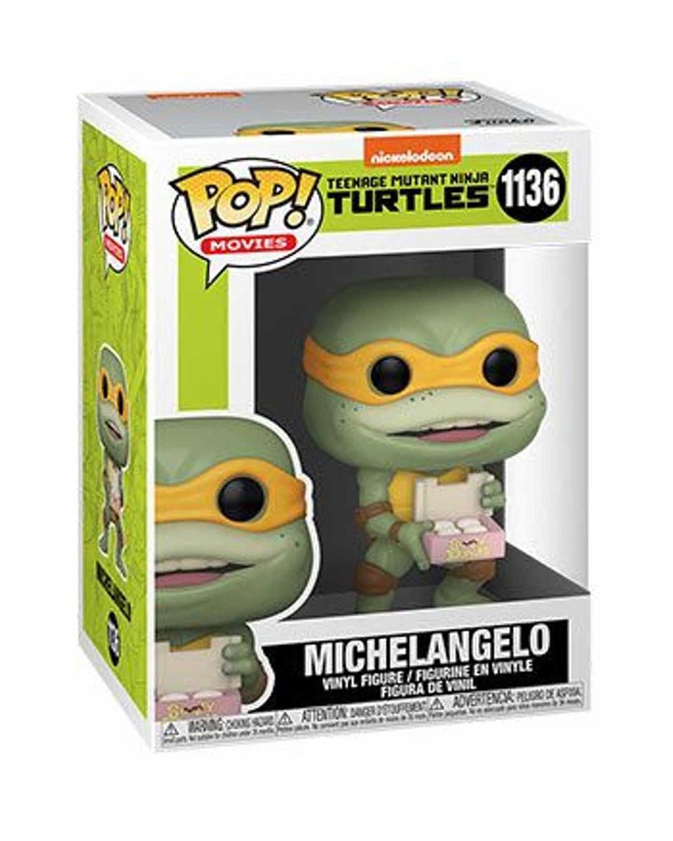 Bobble Figure Movies TMNT 2 POP! - Michelangelo