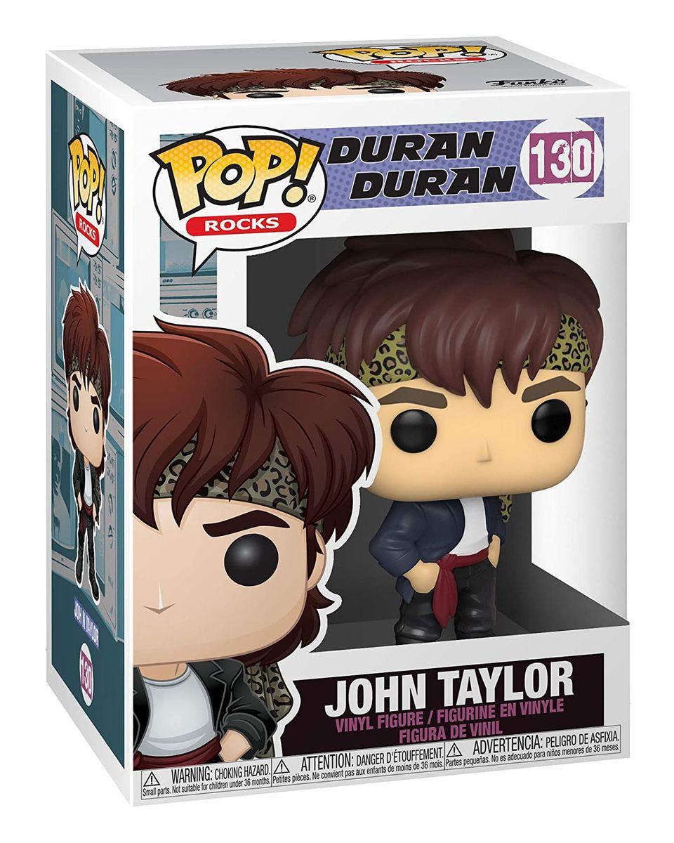 Bobble Figure Rocks POP! Duran Duran - John Taylor