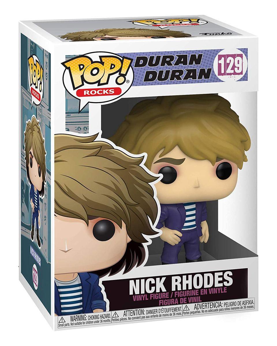 Bobble Figure Rocks POP! Duran Duran - Nick Rhodes