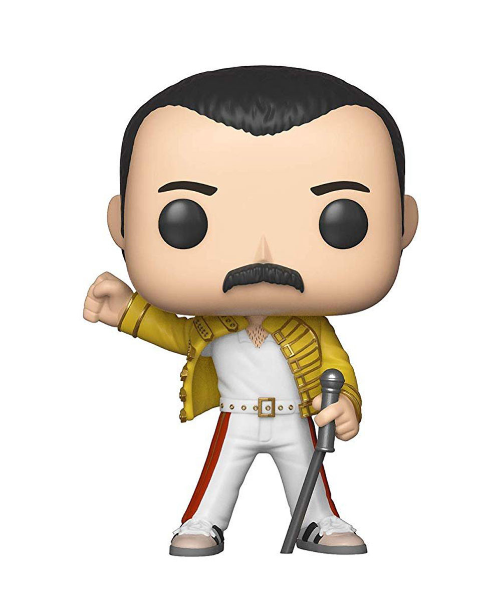 Bobble Figure Rocks POP! Queen - Freddie Mercury