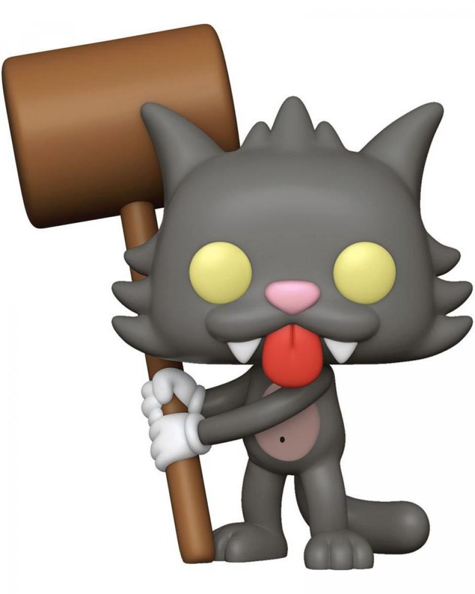 Bobble Figure Simpsons POP! - Scratchy