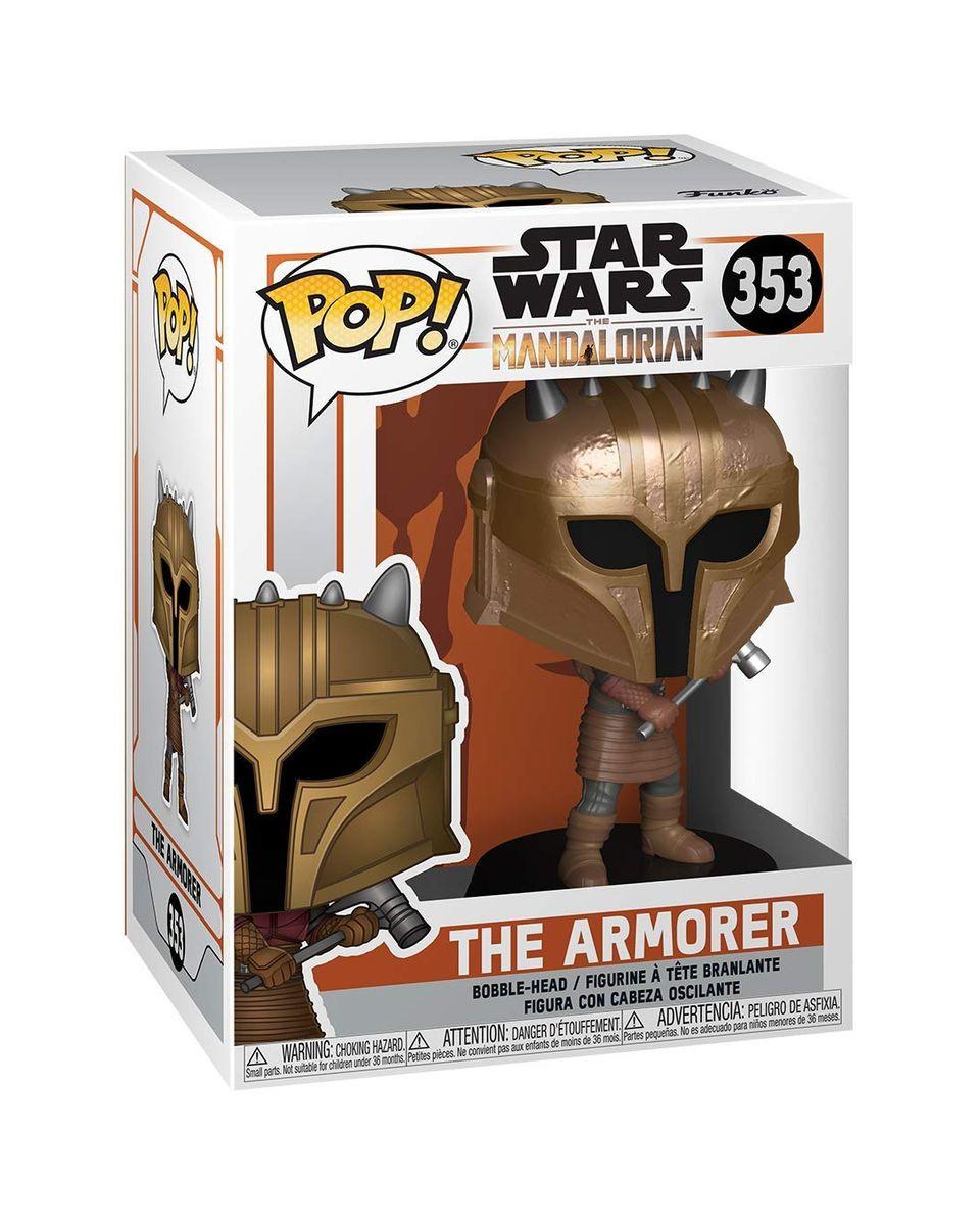 Bobble Figure Star Wars Mandalorian Pop! - The Armorer
