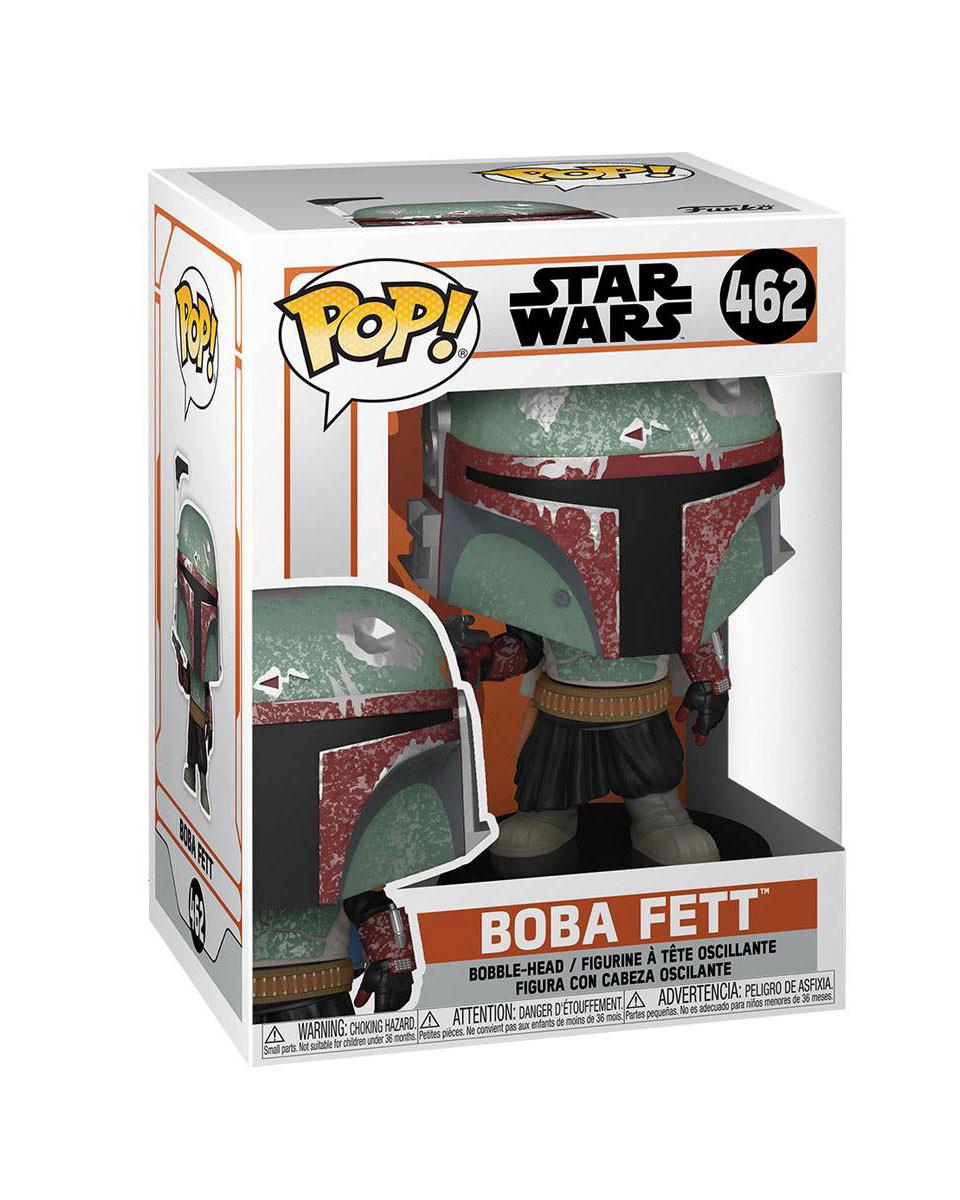 Bobble Figure Star Wars The Mandalorian POP! - Boba Fett