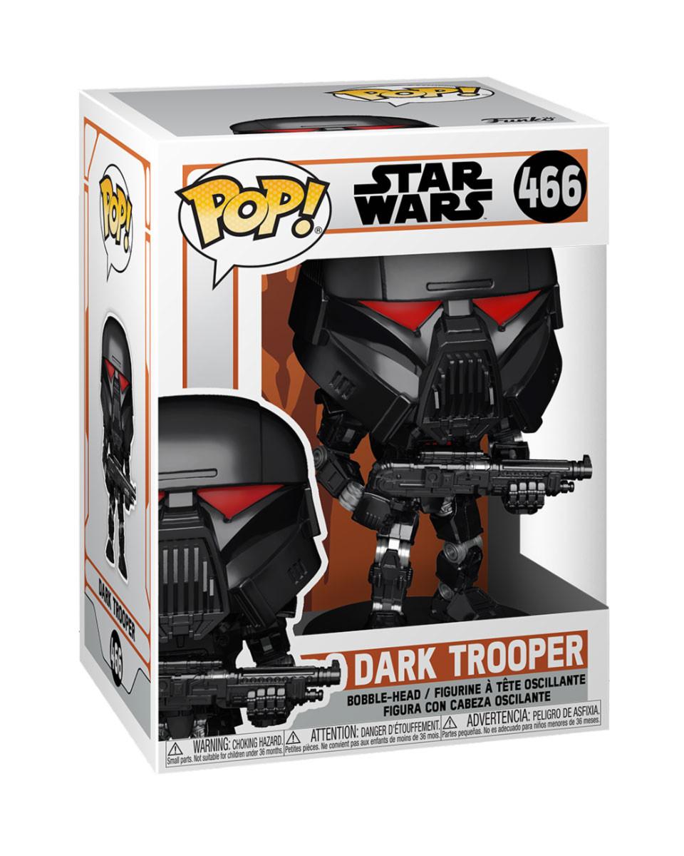 Bobble Figure Star Wars The Mandalorian POP! - Dark Trooper