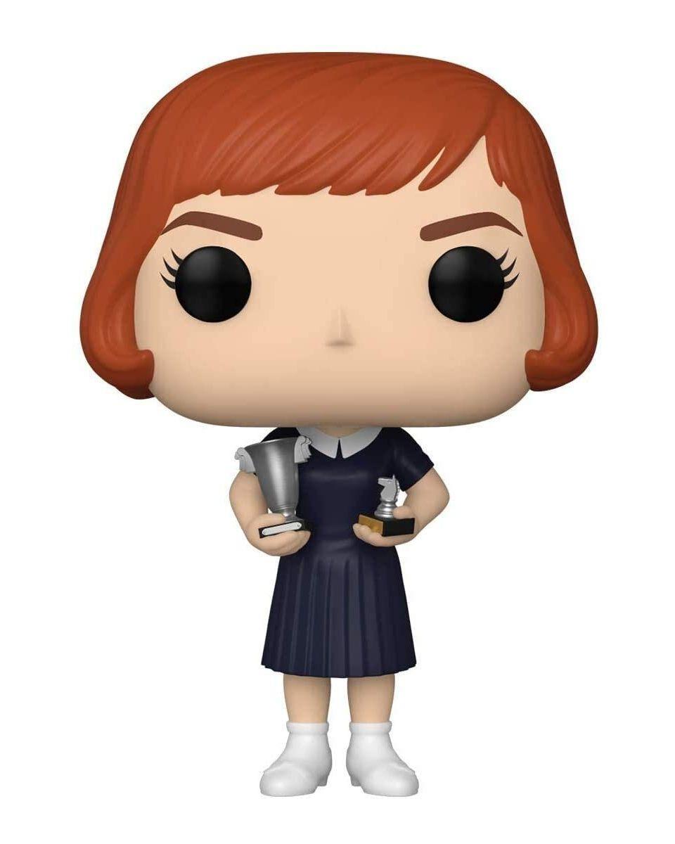 Bobble Figure The Queen's Gambit POP! - Beth Harmon With Trophies